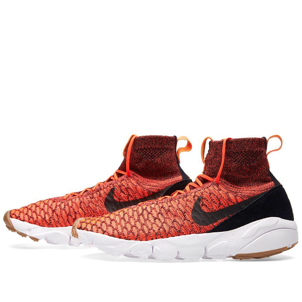 Nike Air Footscape Magista Flyknit. Bright Crimson efc185120