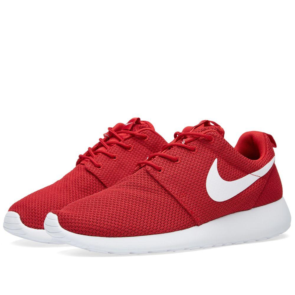 los angeles 658d3 5582f Nike Roshe One Gym Red, Black  White  END.