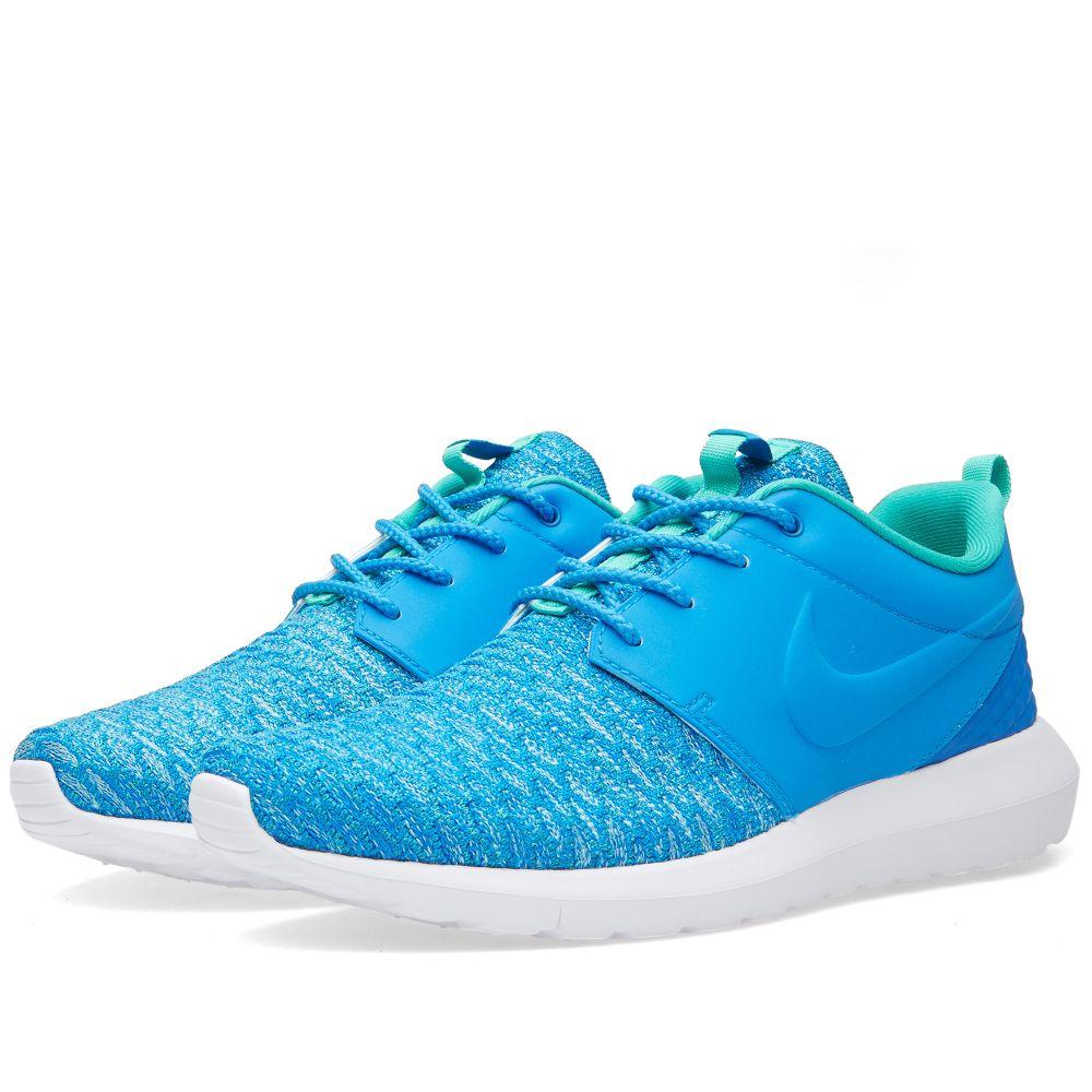 8d423d954335 Nike Roshe One NM Flyknit Premium Photo Blue