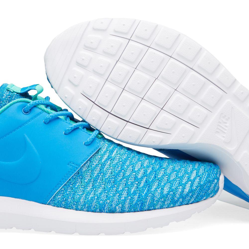 377259c4f1cb6 Nike Roshe One NM Flyknit Premium Photo Blue
