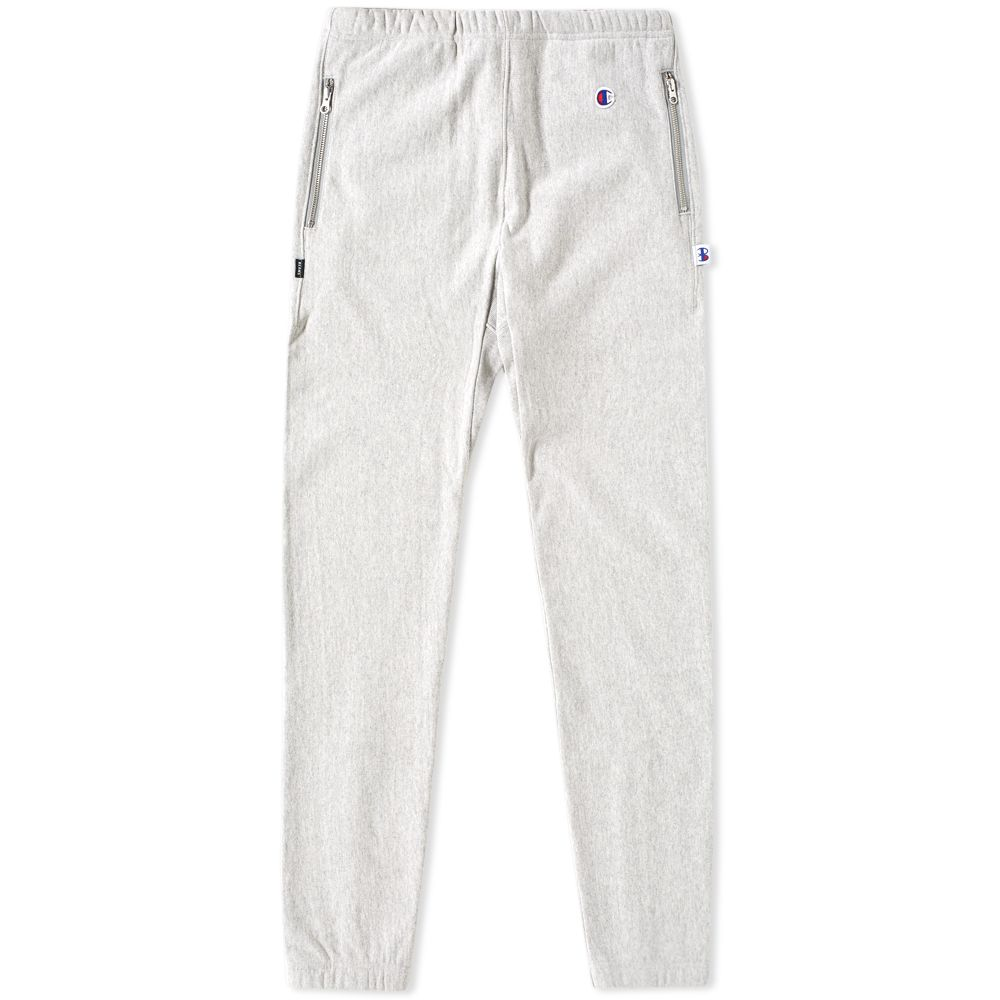 1b281469bdd6 Champion x Beams Elasticated Cuff Pant Grey Marl