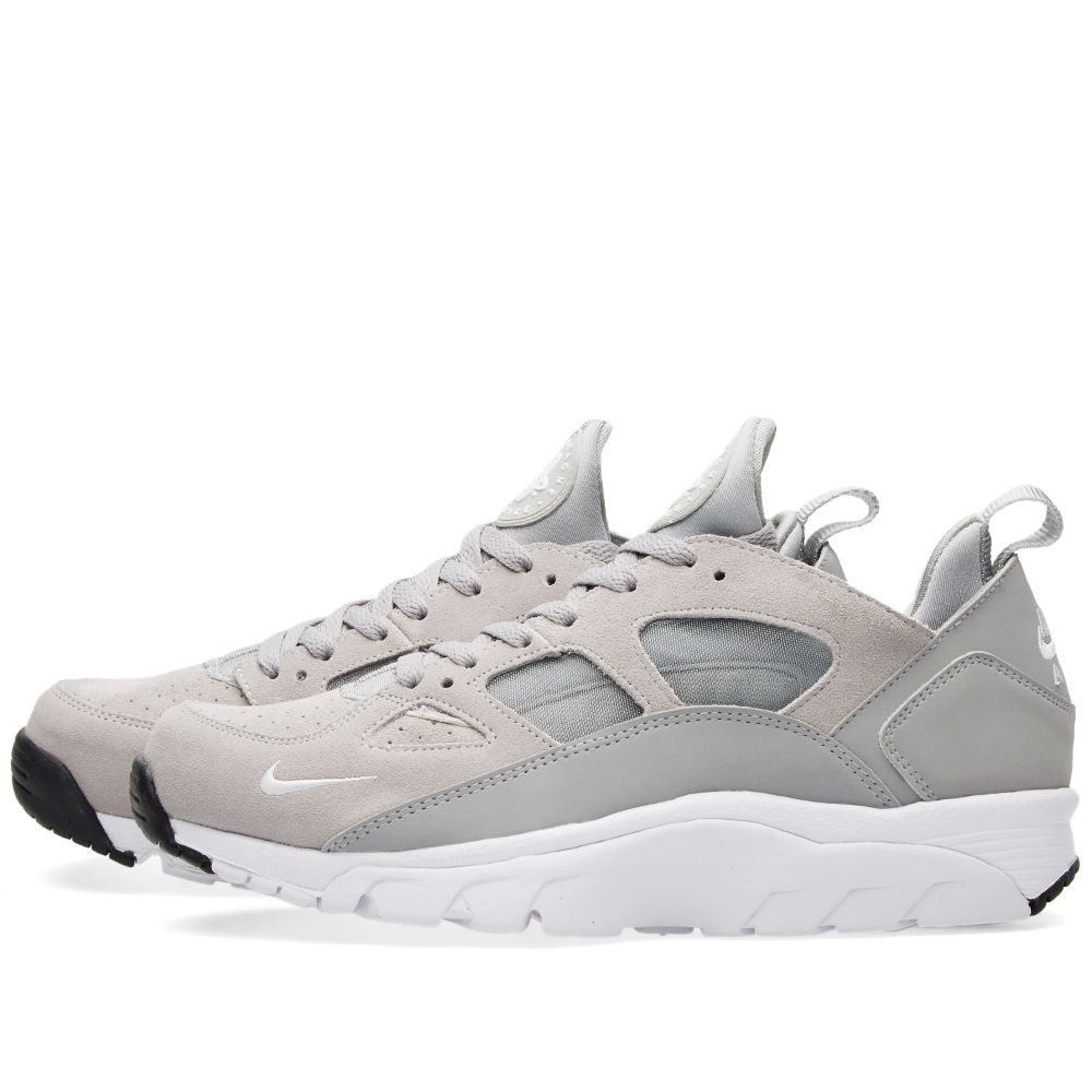 cozy fresh 6d365 c1572 Nike Air Trainer Huarache Low. Wolf Grey  White. 115 75