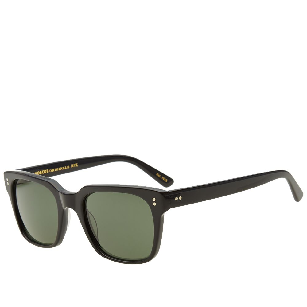 fc777719662 Moscot Zayde 51 Sunglasses Black   G15