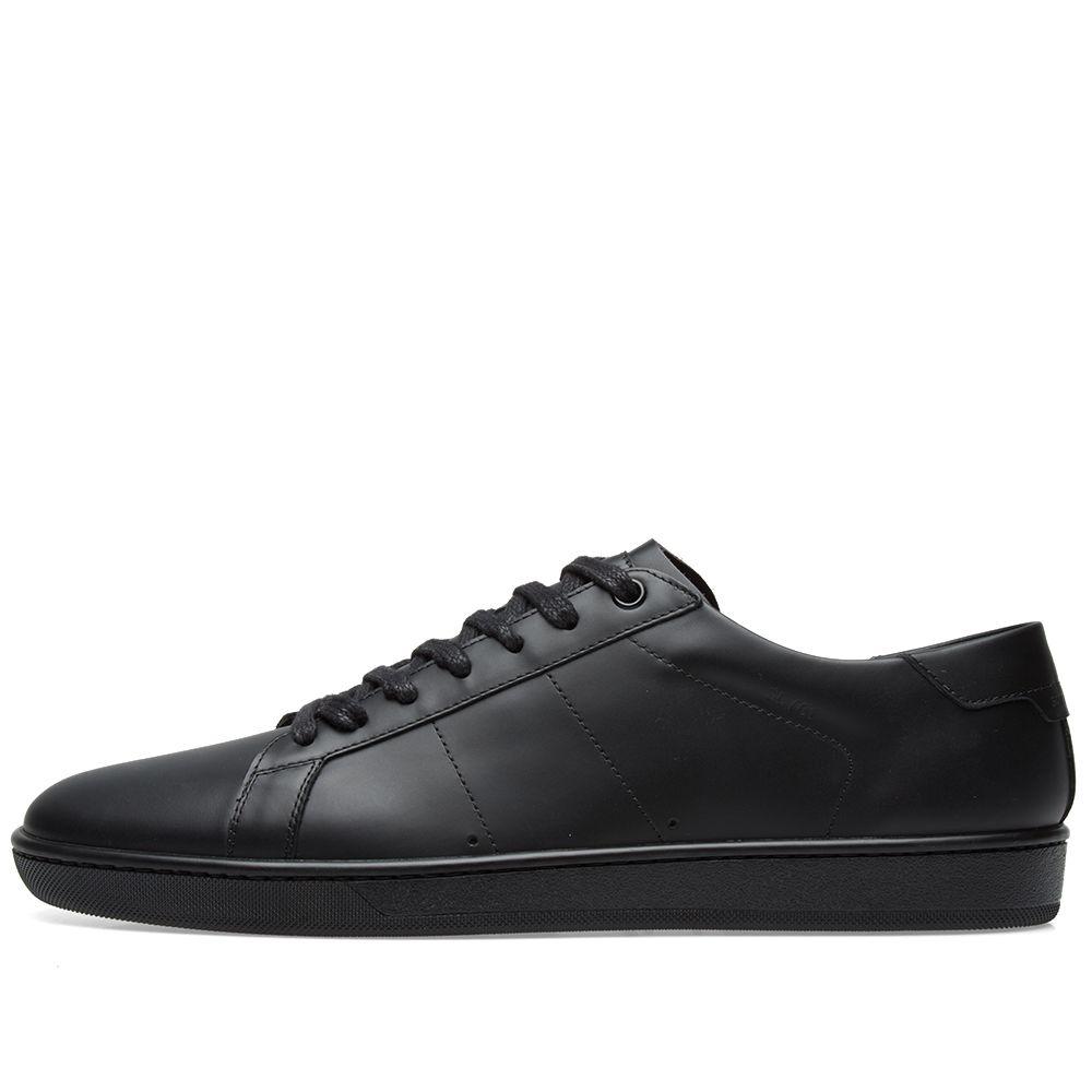 64ef42846b86 Saint Laurent SL-01 Sneaker Triple Black