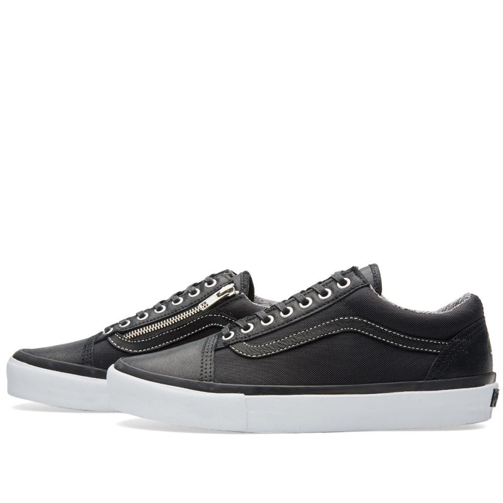 ad3d1be7cb Vans Vault x Highs and Lows Old Skool Zip LX Black