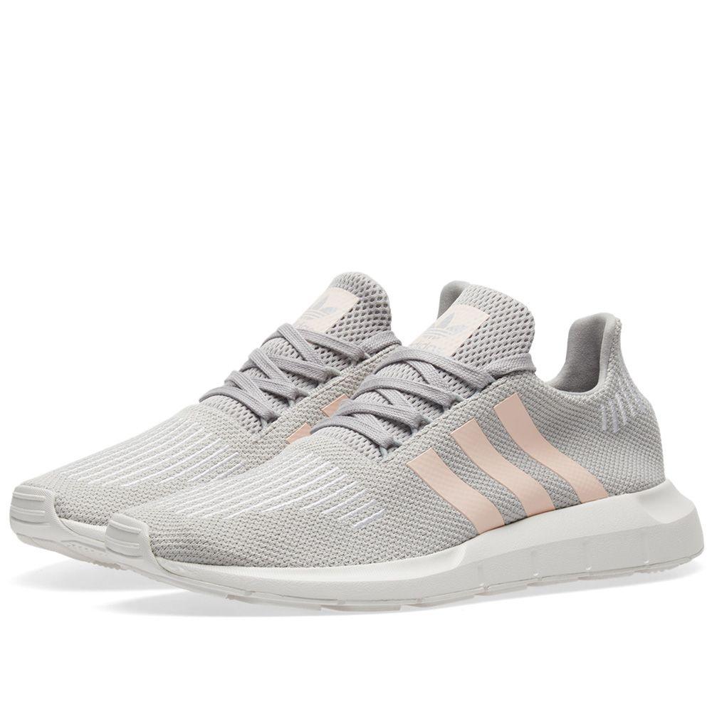 0d27386277a Adidas Swift Run W Grey Two