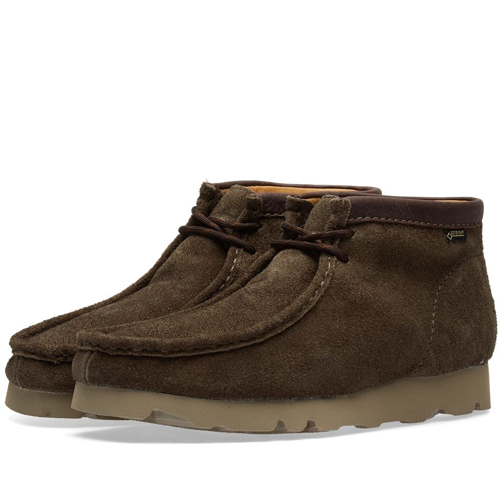 e3f3a0a726e5a9 Clarks Originals Wallabee Boot GTX Peat Suede