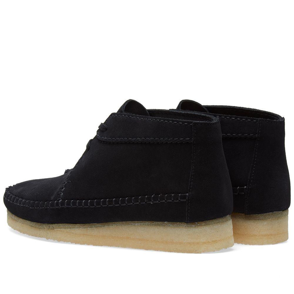 29f85ed6634 Clarks Originals Weaver Boot Black Suede