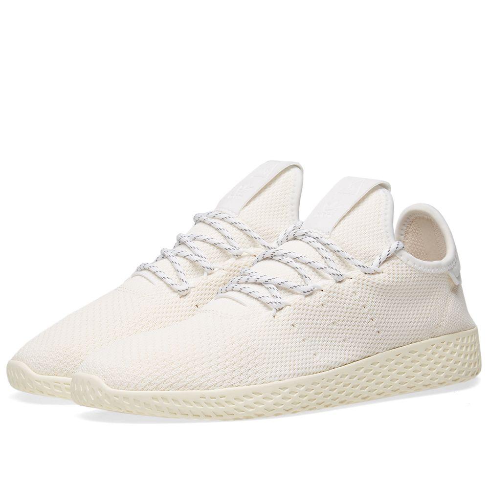 0e23f02b6 Adidas x Pharrell Williams Hu Tennis Hu  Blank Canvas . Cream   White.  DKK869 DKK575. image