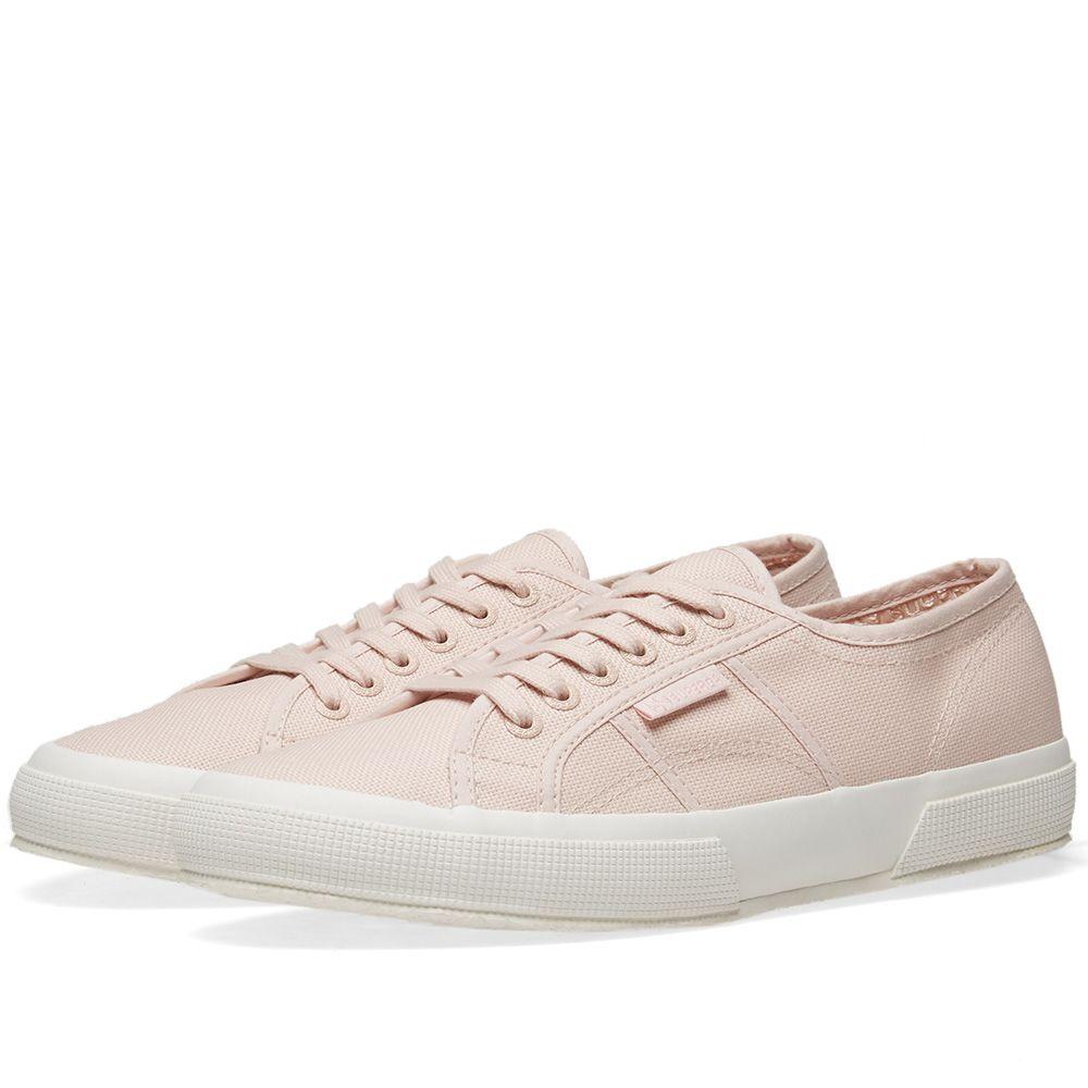 01d3d4a2e0f Superga 2750 Cotu Classic Pink Skin   Full White