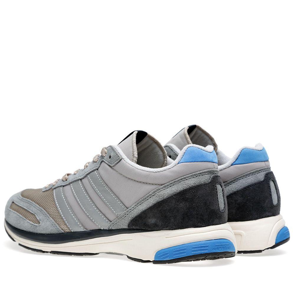 low priced 16914 d9d6a Adidas adiZERO Adios 2 80s Collegiate Silver  END.
