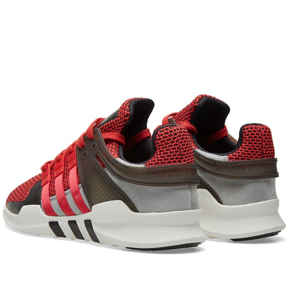 7c64c4e14fae Adidas EQT Support ADV Collegiate Red   Black