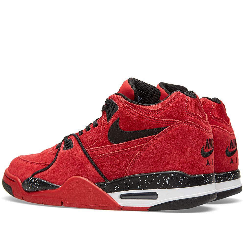 078e2f63e8fa Nike Air Flight 89 Gym Red   Black