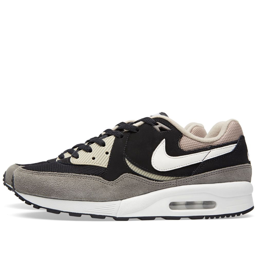 wholesale dealer 816d7 80263 Nike Air Max Light Essential Black, White  Flat Pewter  END.