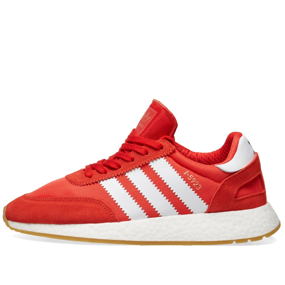 hot sale online d427d 85b0e Adidas I-5923 Red, White  Gum  END.