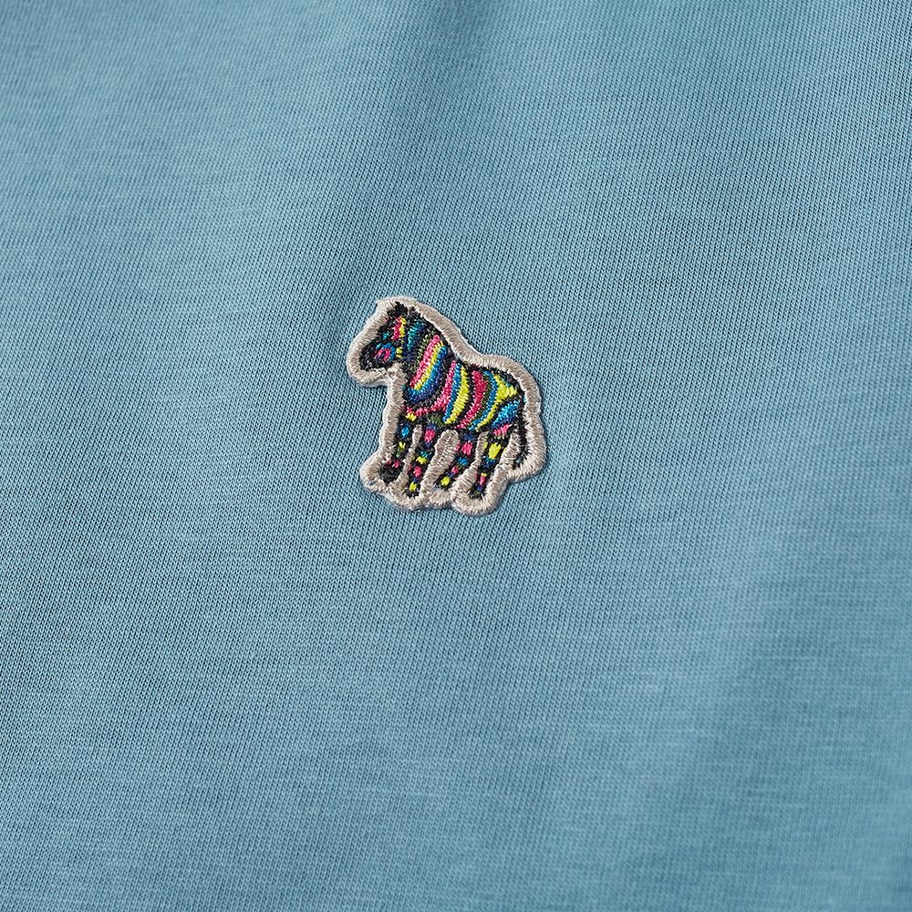 Paul Smith Zebra Logo Tee. Teal.  55. image. image 9cc96f4bc949
