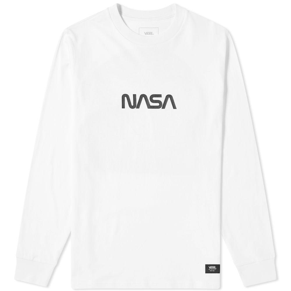 5453b308af0f Vans Long Sleeve Space Man Tee White