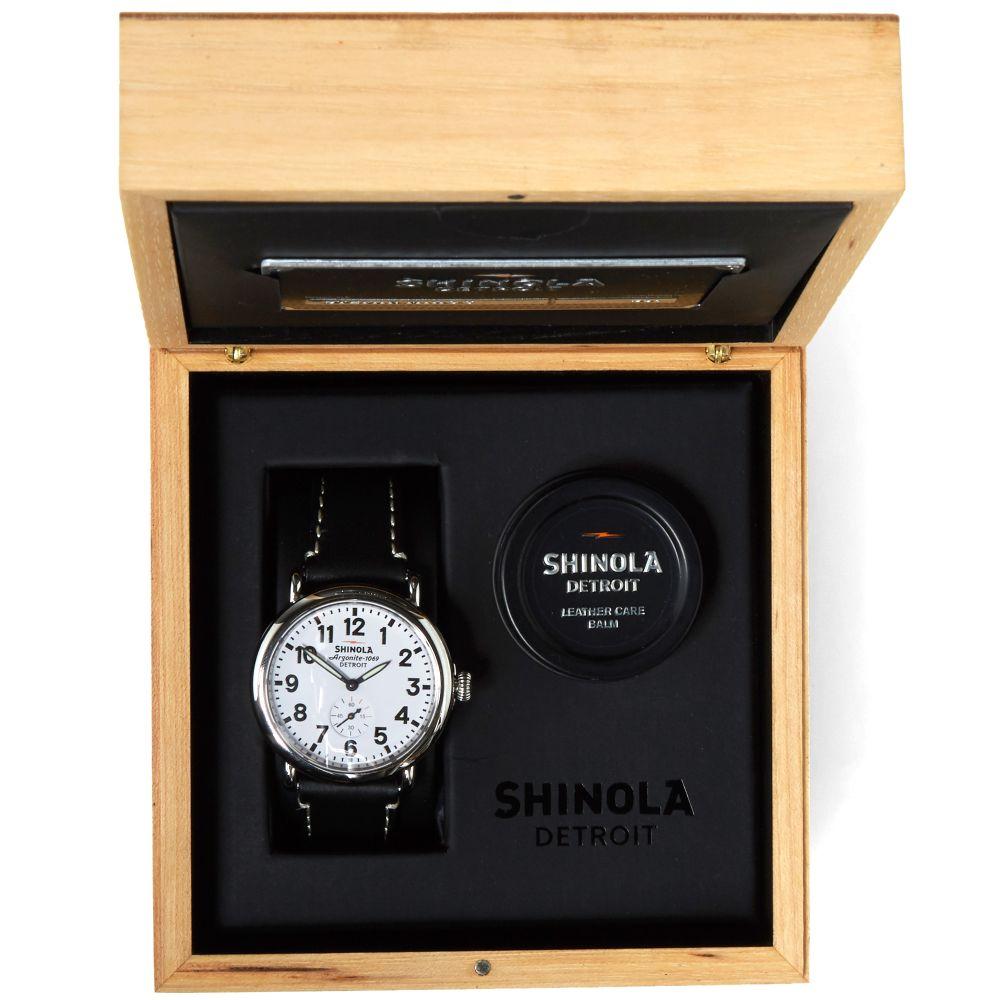 d8b53b43387 Shinola Runwell 41mm Watch Black   Stainless Steel