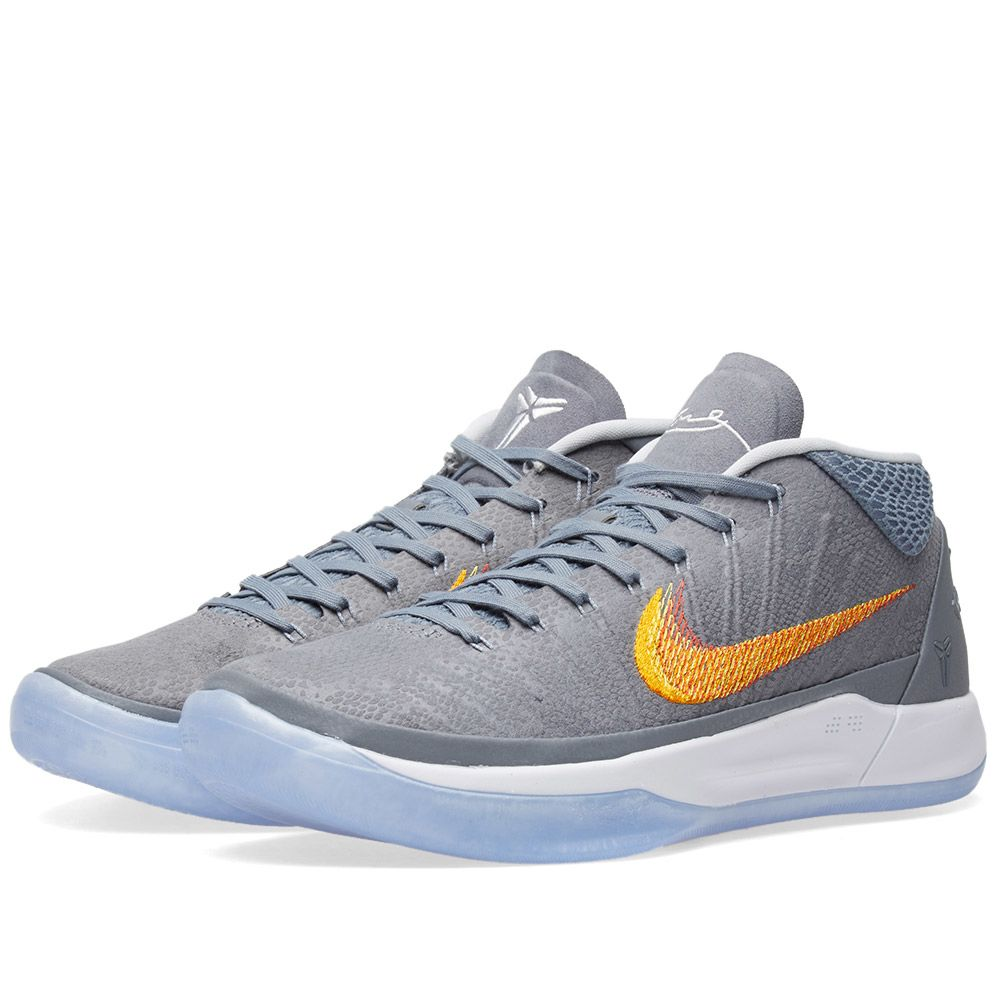reputable site aa517 6a9c9 Nike Kobe A.D. 1 Chrome   Habanero   END.