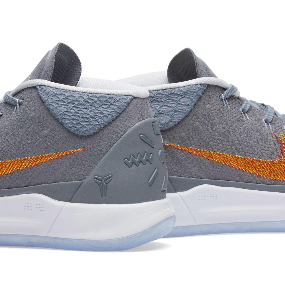 huge selection of 77c98 ba0e3 Nike Kobe A.D. 1 Chrome  Habanero  END.