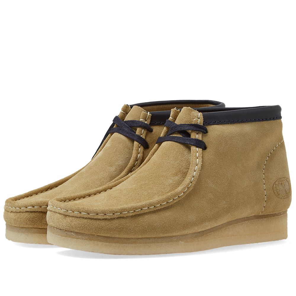 259d55ad3fa5d Clarks Originals x Wu Wear Wallabee Boot Maple Suede