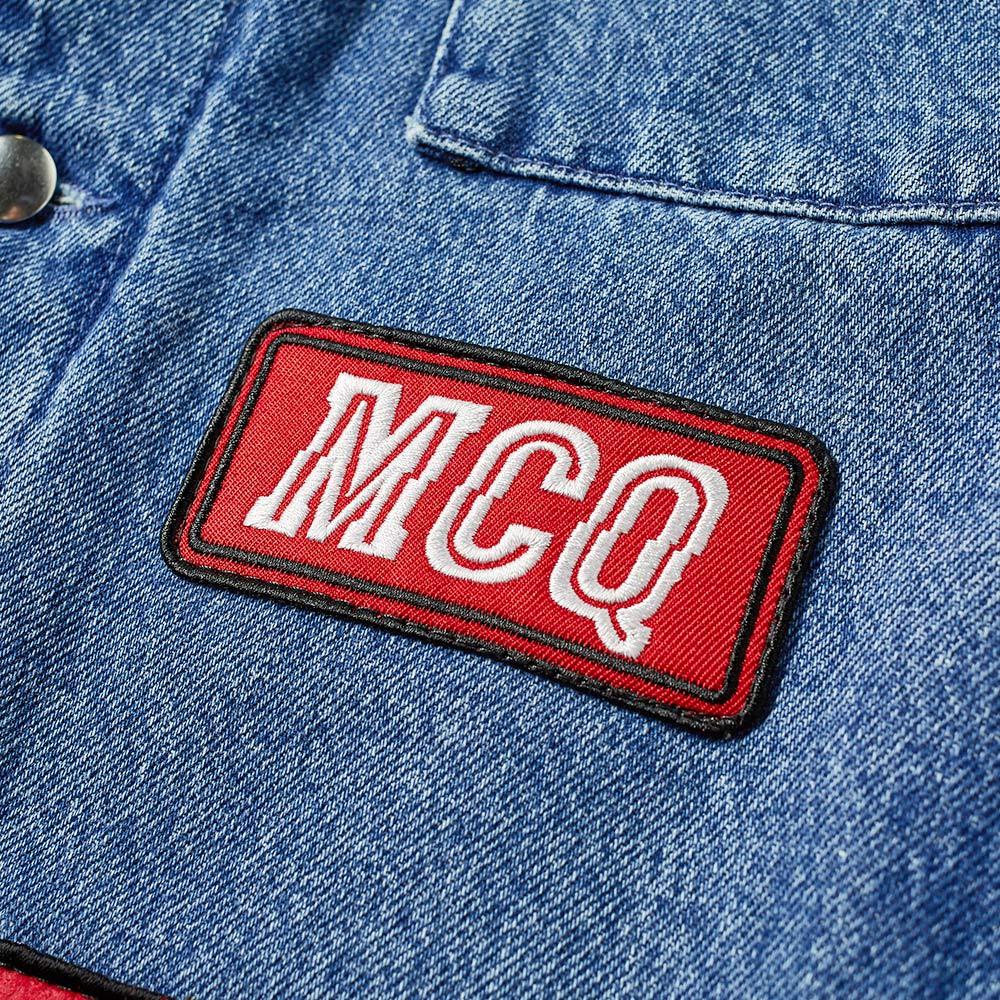 6492fddf4599 homeMcQ Alexander McQueen Patch Denim Jacket. image. image. image. image.  image. image. image. image. image
