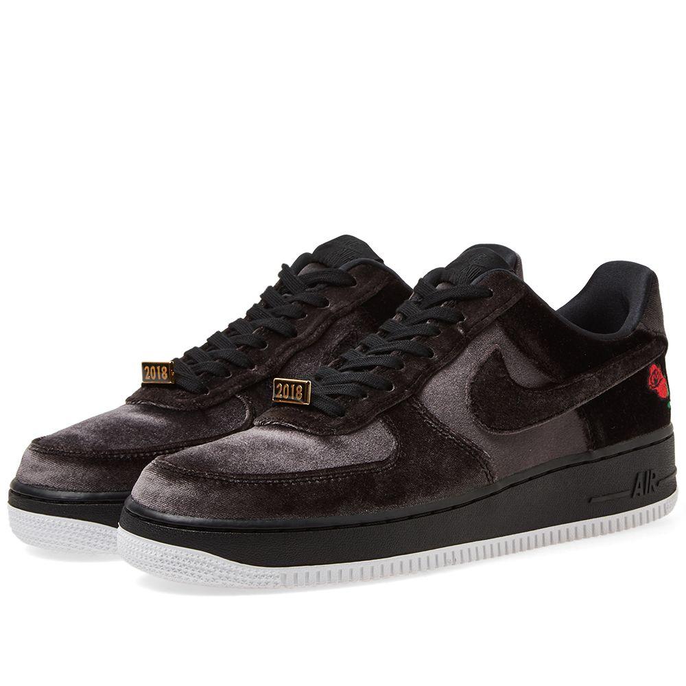 Nike Air Force 1  07 QS Black   White  48ee4c594
