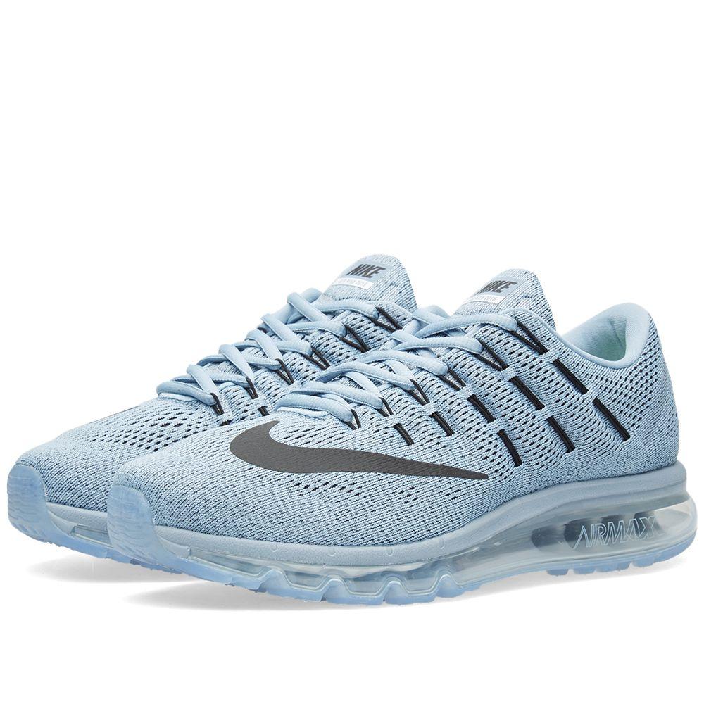 sale retailer 721d4 fbb02 Nike Air Max 2016 Blue Grey, Black  Ocean Fog  END.