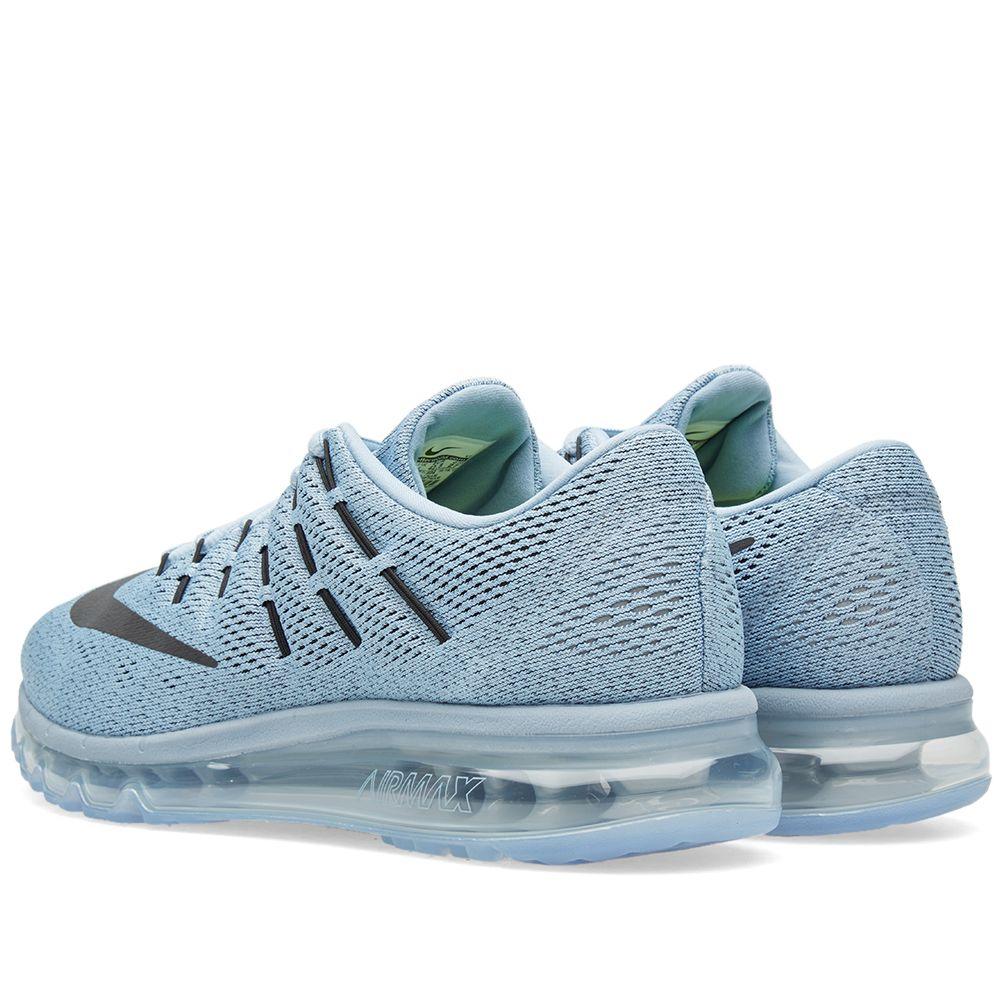 sale retailer 945d0 34d2a Nike Air Max 2016 Blue Grey, Black  Ocean Fog  END.