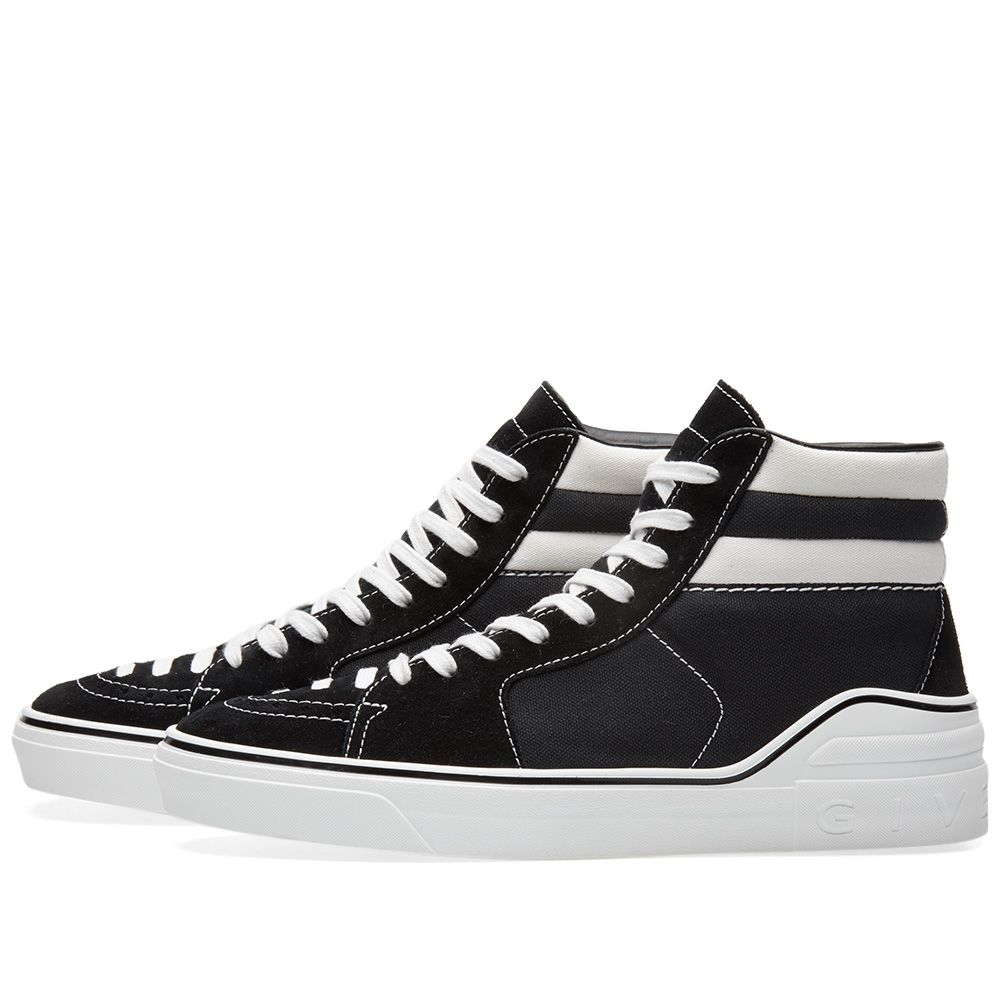 be64a19258e08 Givenchy George V Mid Sneaker Black   White