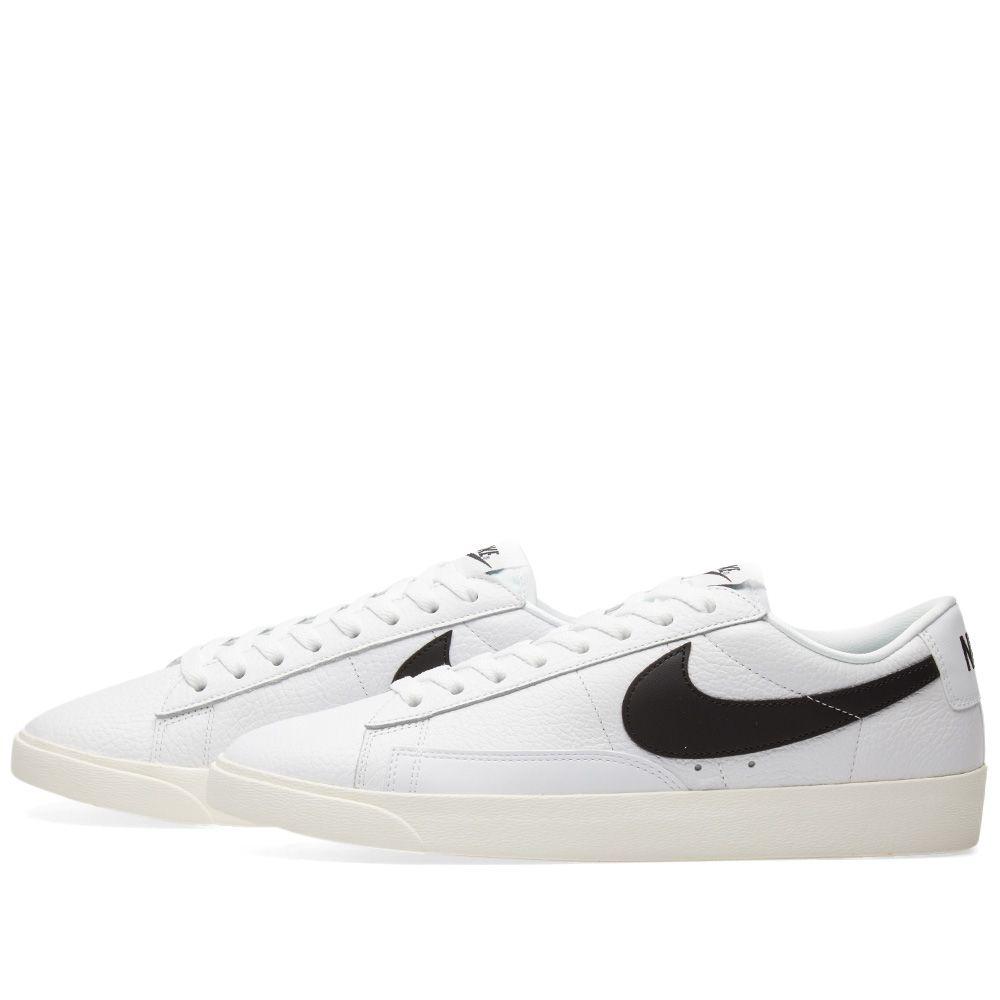size 40 be9fb d3d6c Nike Blazer Low Premium W White, Black  Sail  END.