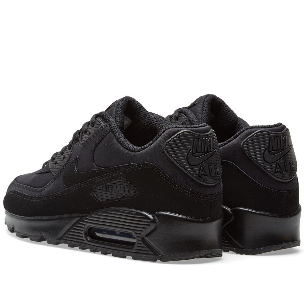 9a2c6ed7db9 Nike Air Max 90 Essential Black   Black