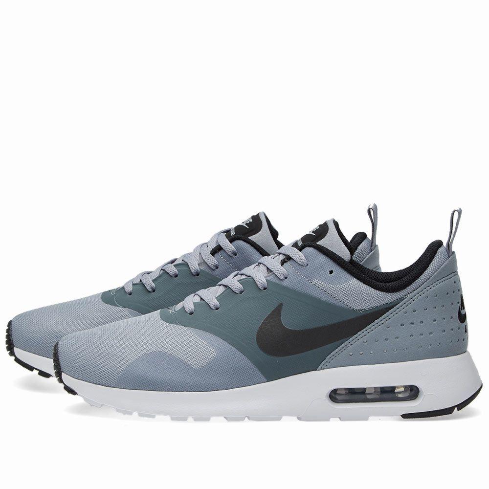 separation shoes 71d83 0778e Nike Air Max Tavas Stealth, Black   Dark Grey   END.