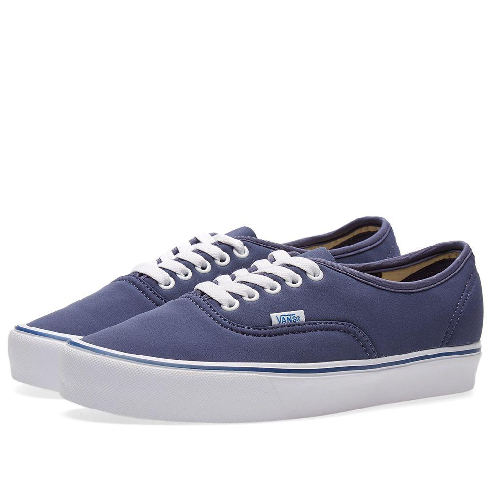 e1aeccd1f3 Vans Vault x Schoeller Authentic  66 Lite LX Crown Blue