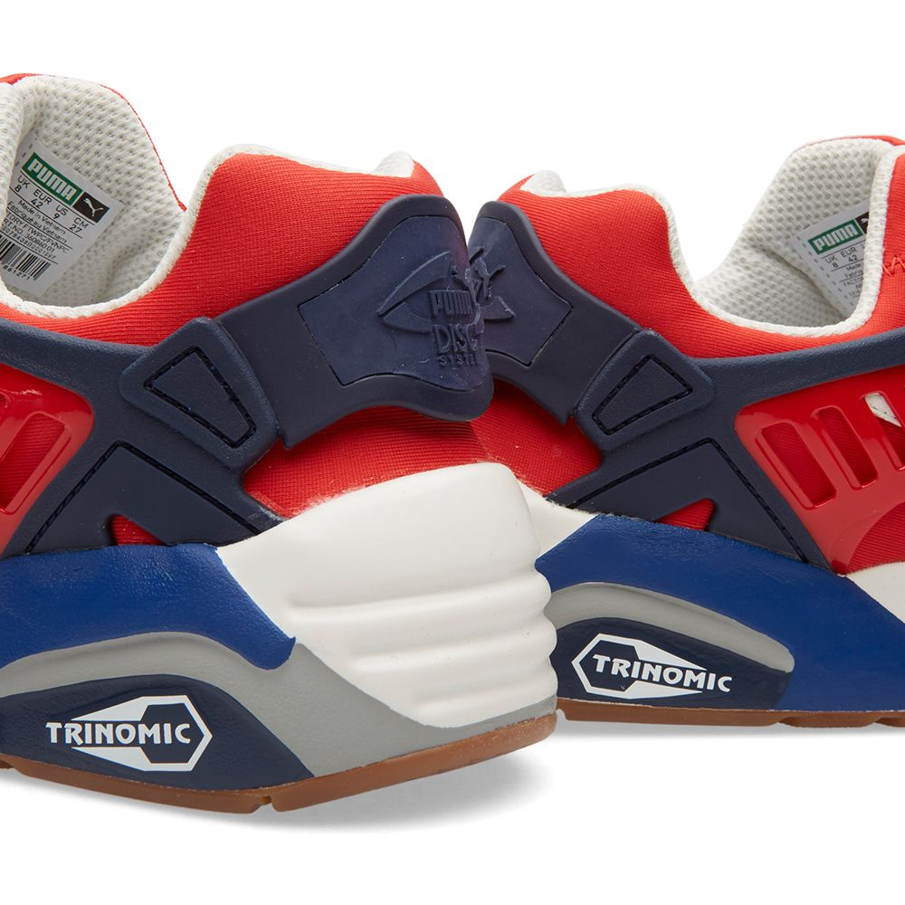 82d479713b9ed Puma Disc Blaze Athletic High Risk Red   Star White