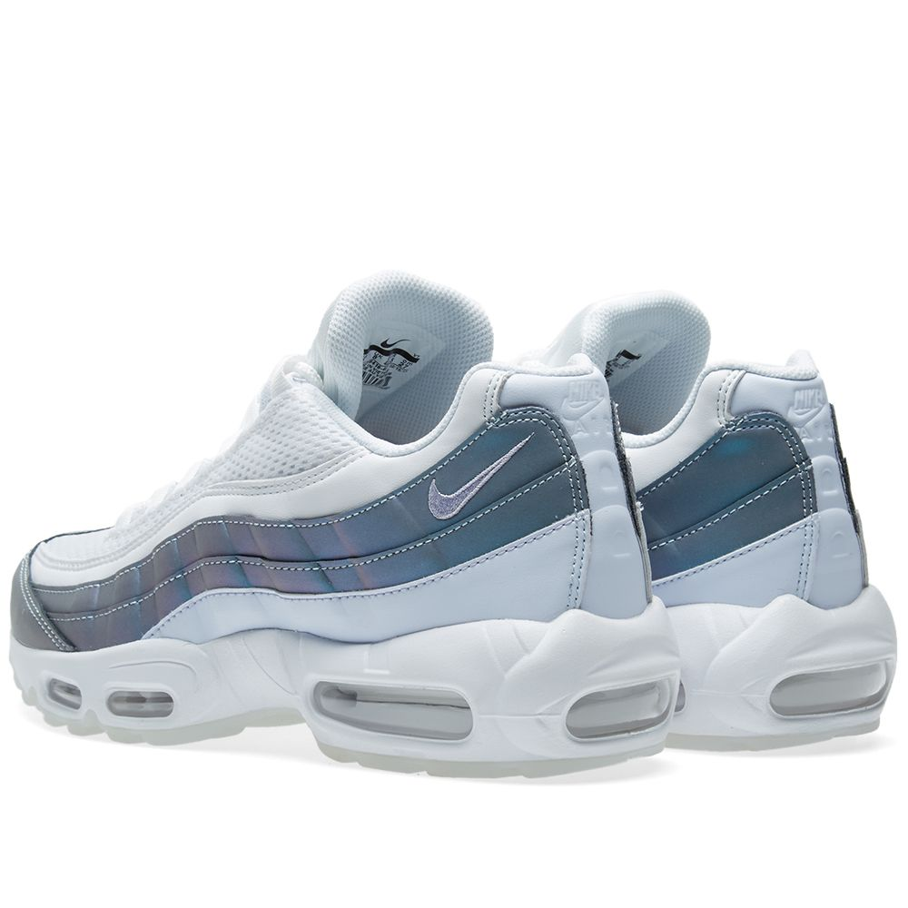 premium selection a96b7 3636f Nike Air Max 95 Premium Glacier Blue, Purple   White   END.