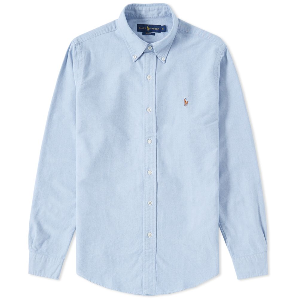 c1a9cf7b9fac homePolo Ralph Lauren Slim Fit Button Down Oxford Shirt. image. image.  image. image. image. image. image. image