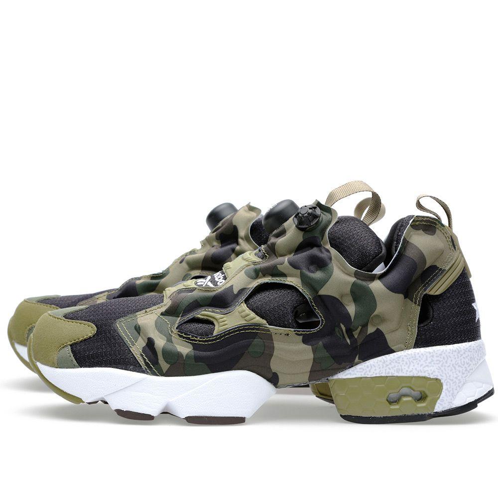 58453063910c3 bape reebok Reebok x A Bathing Ape x Mita Sneakers Instapump Fury ...
