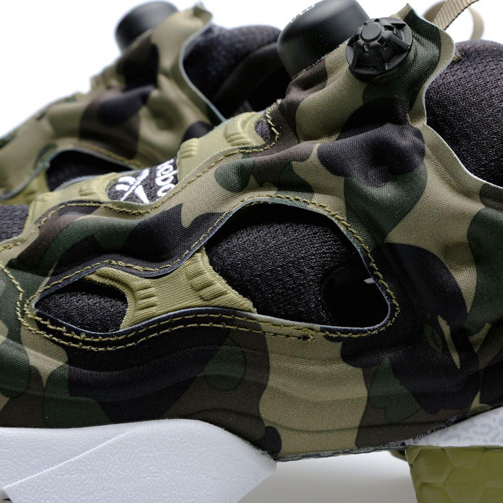 85d37f7673e Reebok x A Bathing Ape x Mita Sneakers Instapump Fury OG Black ...