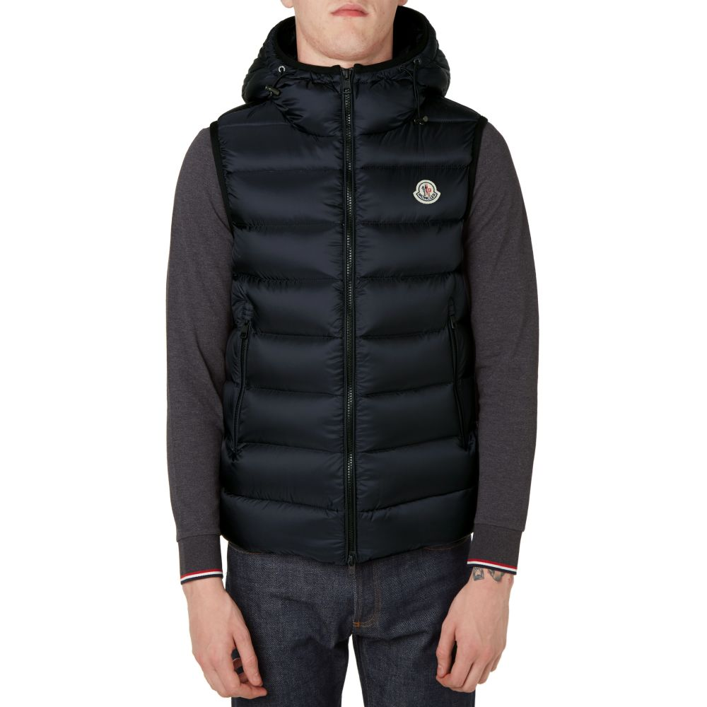 f297b10d5 Moncler Ray Hooded Gilet Navy