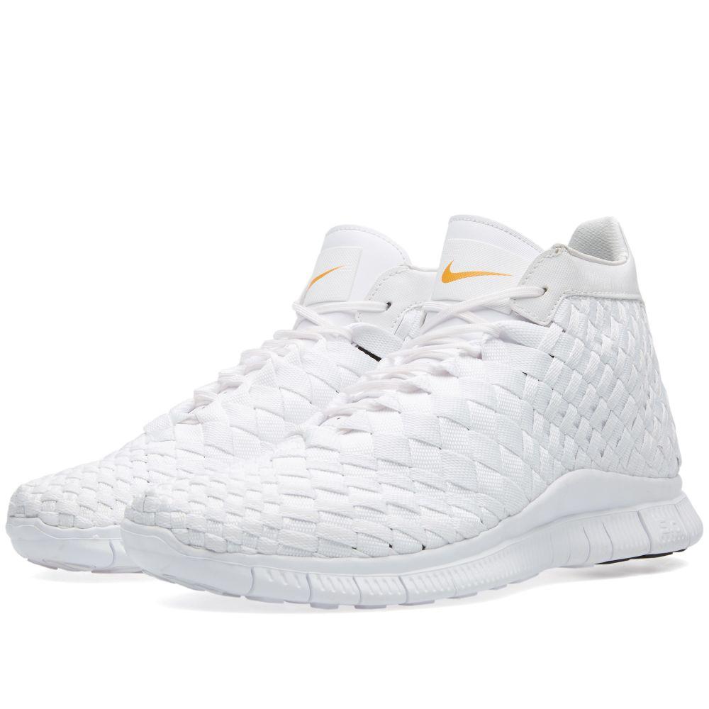 free shipping 5fc91 5ddde Nike Free Inneva Woven Mid SP. White