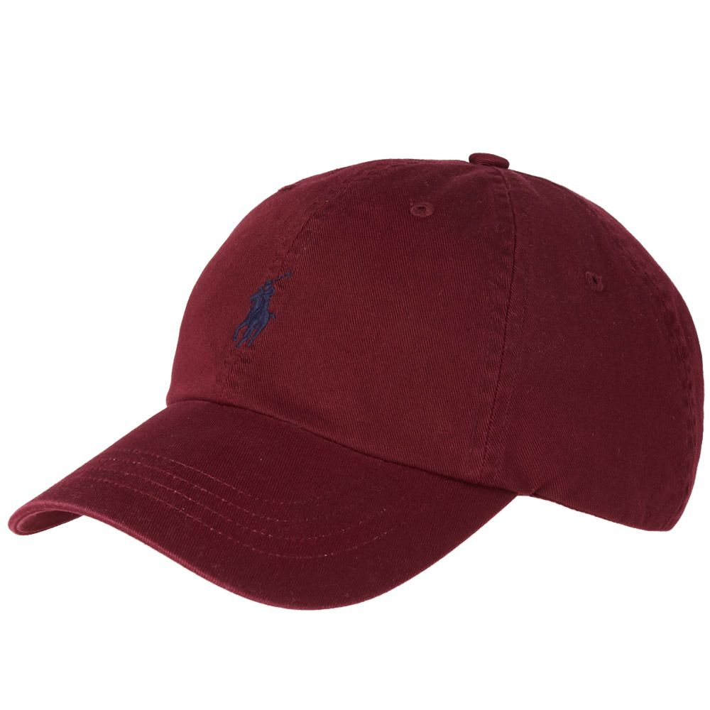 Polo Ralph Lauren Classic Baseball Cap Fall Burgundy  5b46f48f2c
