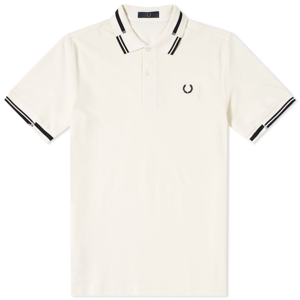 363229ba5 Fred Perry Split Collar Pique Polo Ecru | END.