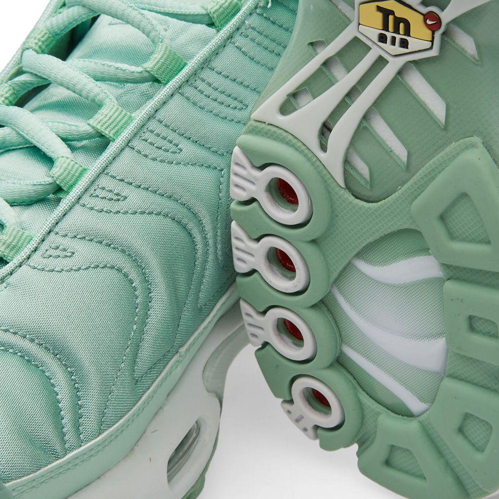952b800be80d Nike W Air Max Plus SE Enamel Green   White
