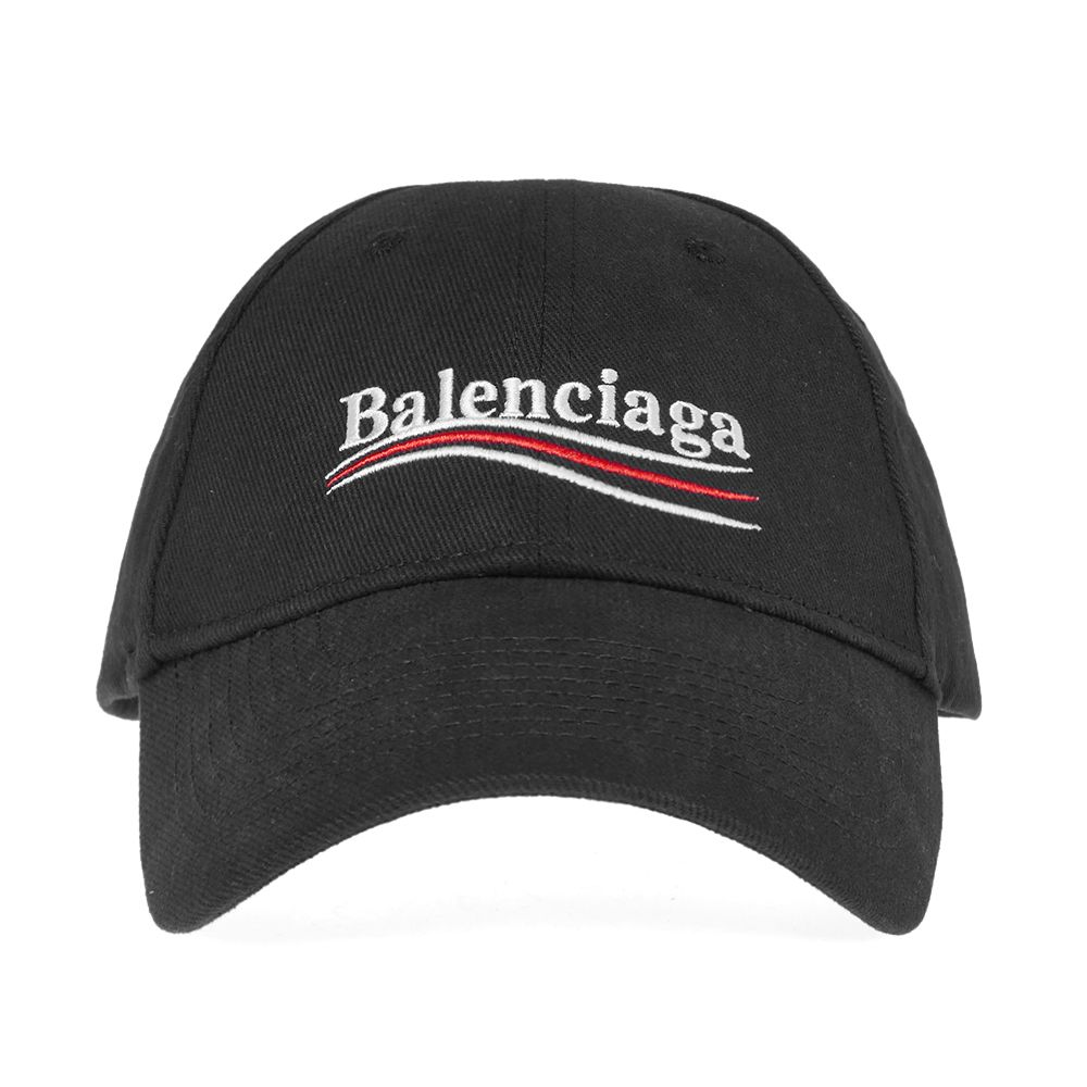 Balenciaga Political Campaign Logo Cap Black  366be785d9c