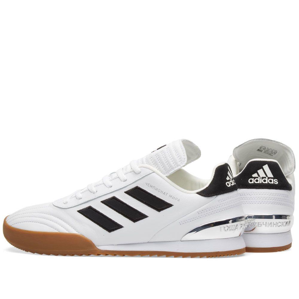 newest ec2cc 2b259 Gosha Rubchinskiy x Adidas Copa WC Sneaker. White