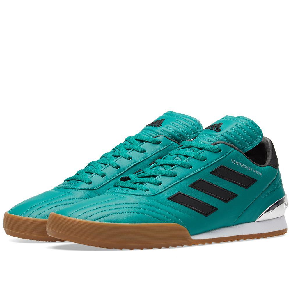 official photos 5c788 1681a Gosha Rubchinskiy x Adidas Copa WC Sneaker. Green. S369 S239