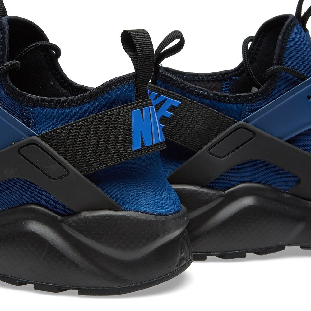 4be2b8c1bebe Nike Air Huarache Run Ultra Coastal Blue   Dark Obsidian