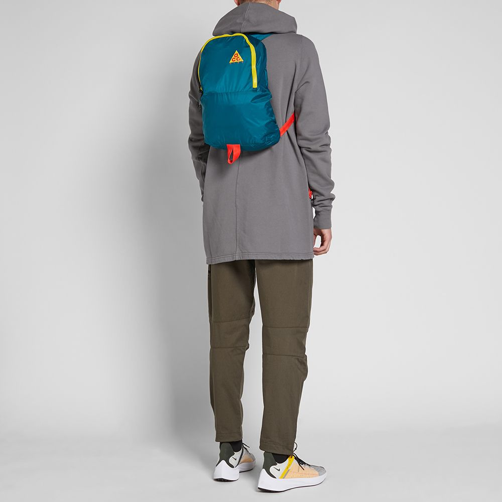 e64b2f2d229 Nike ACG NSW Packable Backpack Geode Teal   Midnight Spruce   END.