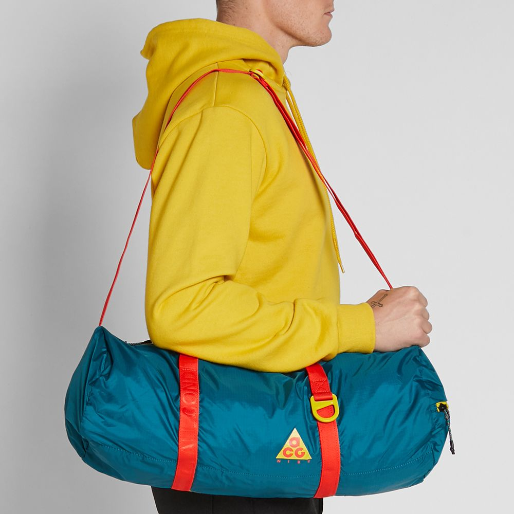 88641b8a4a1a Nike ACG NSW Packable Duffle Bag Geode Teal   Midnight Spruce